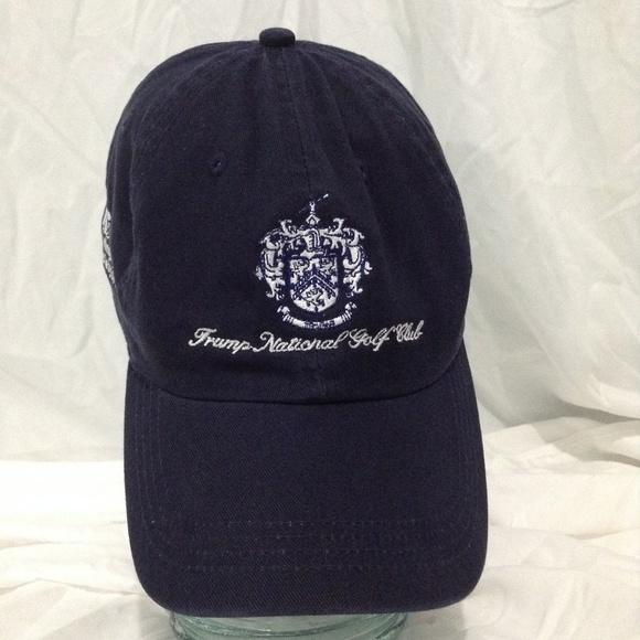 Ahead Vintage Other - Trump National Golf Club Blue Hat Trump Crest 7519605d903